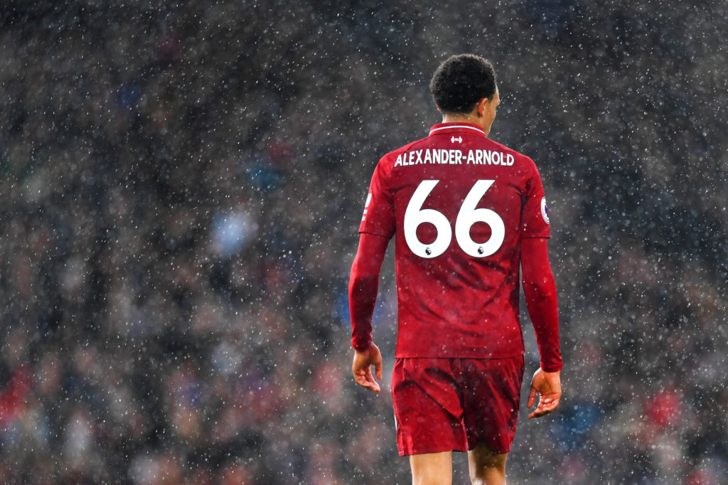 Trent Alexander-Arnold Could Be Fit To Face Spurs