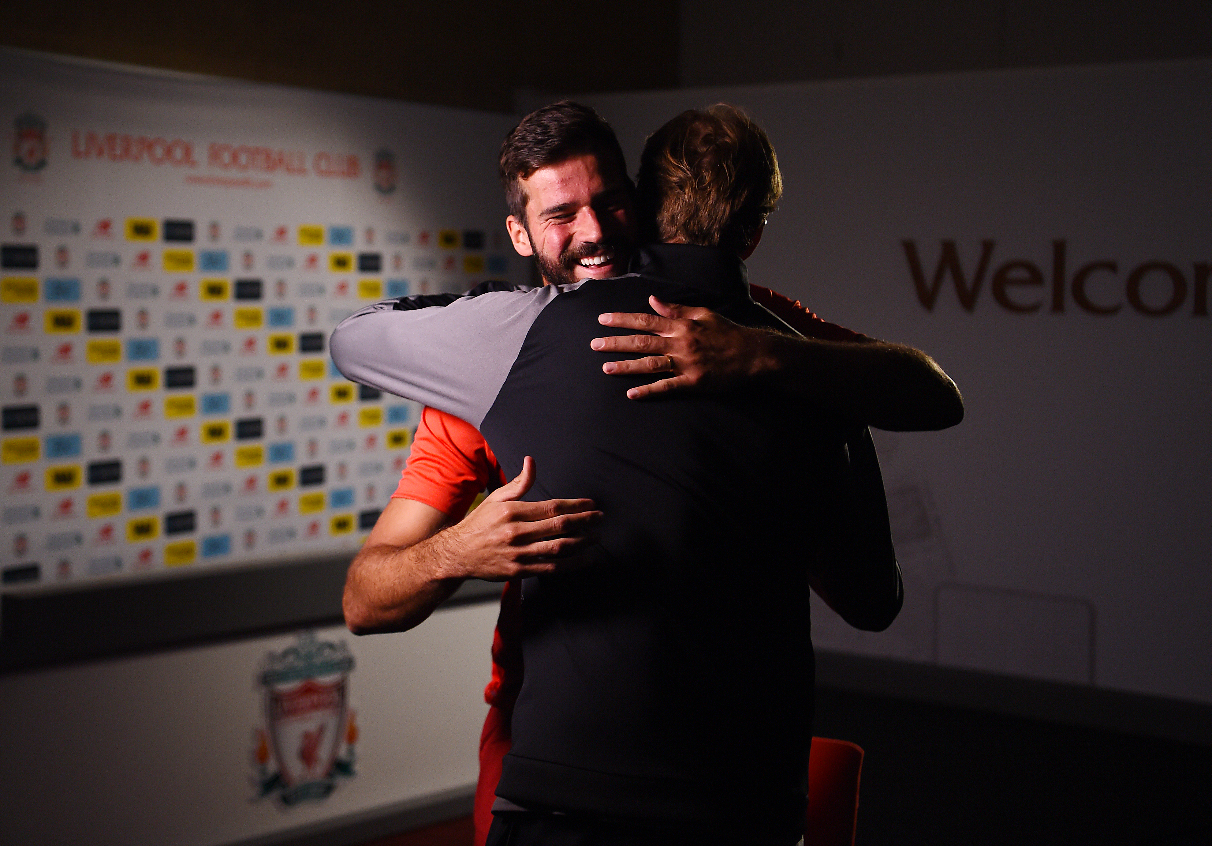 Alisson and Klopp.