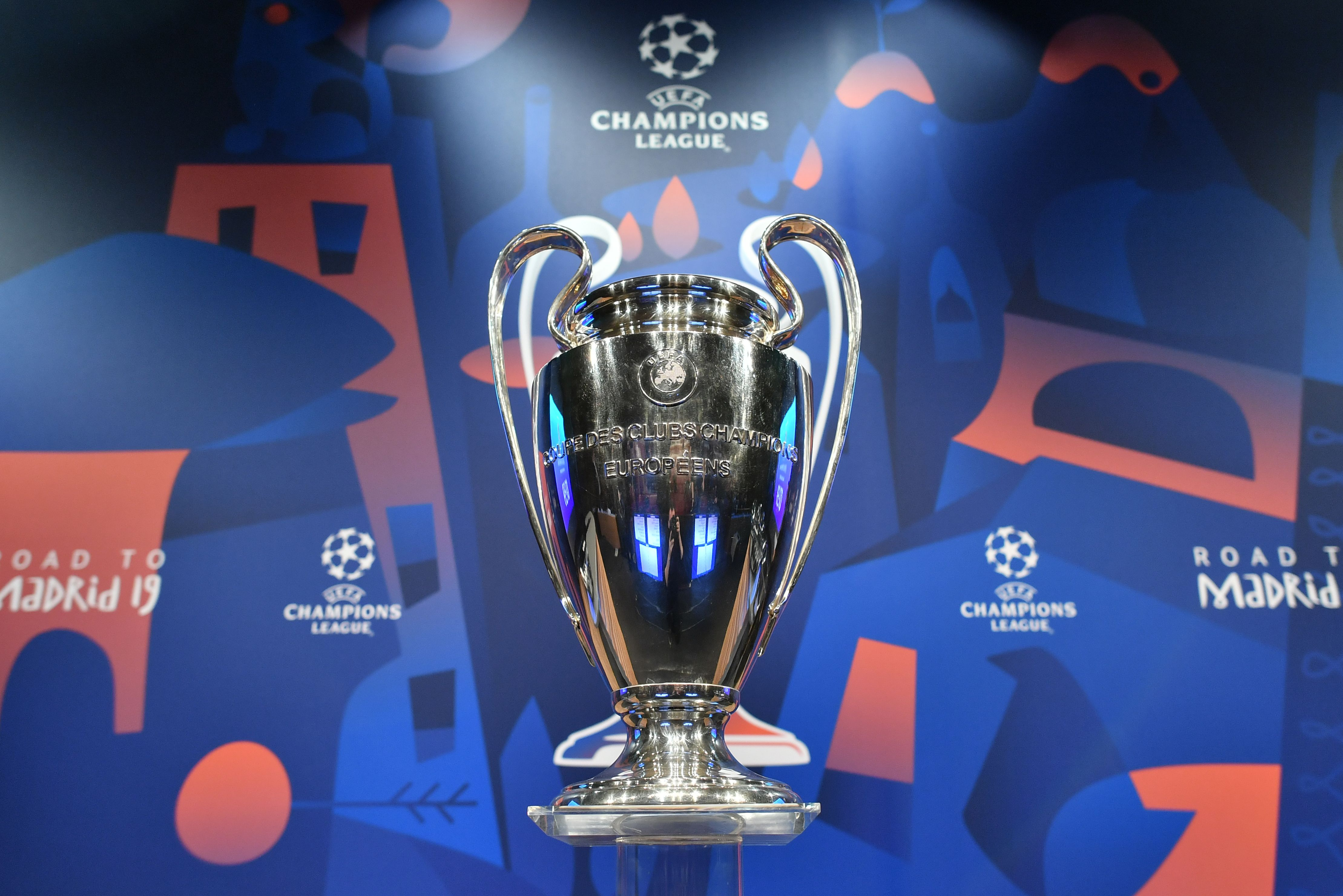 UEFA Champions League trophy.