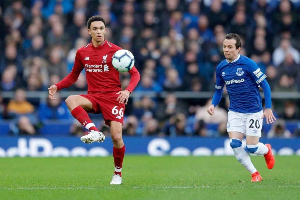 Trent Alexander-Arnold says Merseyside derby is his favourite game