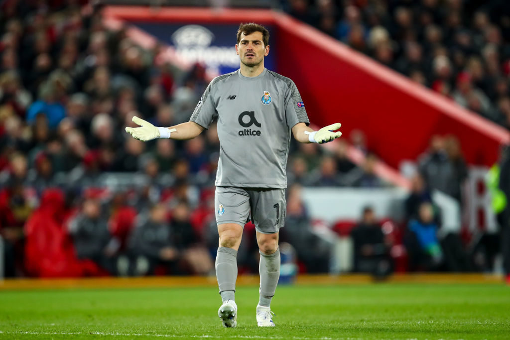 Iker Casillas hits out at Salah and VAR on Twitter