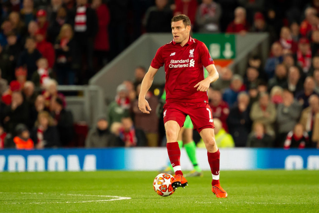 James Milner reveals most impressing trait in Liverpool's season