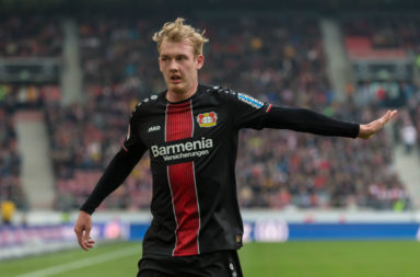 Brandt caught Liverpools eye while at Leverkusen.