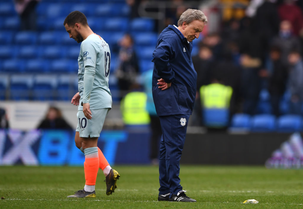 cardiff city weakened side against manchester city
