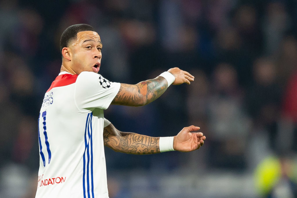 Report: Liverpool not set to move for Memphis Depay
