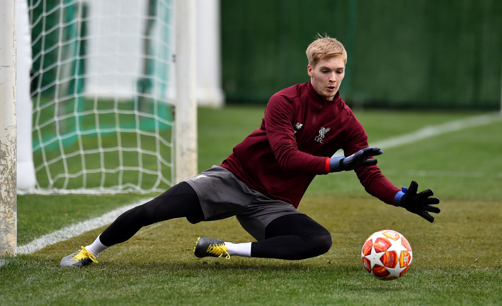 Liverpool surprisingly include Caoimhin Kelleher in squad for Champions League final