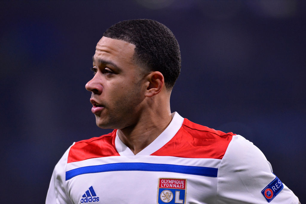 Liverpool have been linked with a move for Memphis Depay.