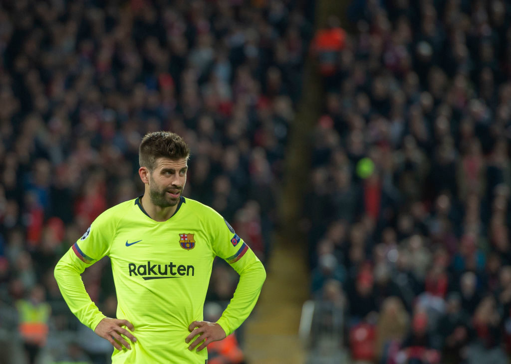 Gerard Pique and Barcelona still feeling effects of 'nightmare' defeat at Anfield
