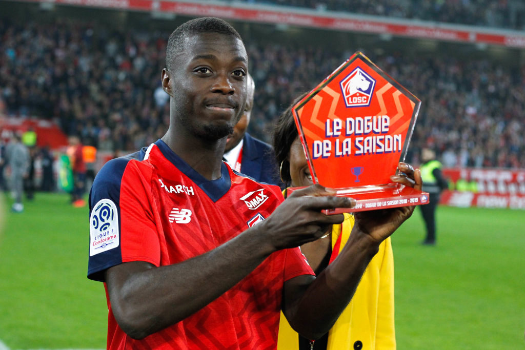 It is reported that Nicolas Pepe is wanted by Jurgen Klopp.