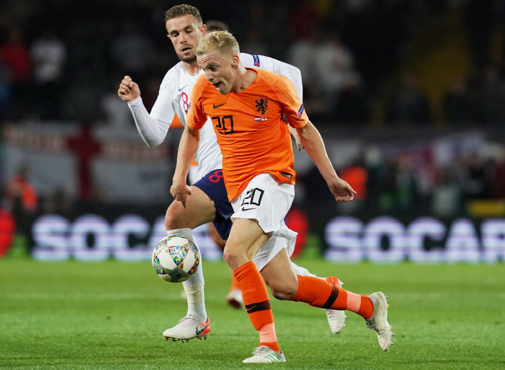 Football expert says Liverpool scouted van de Beek