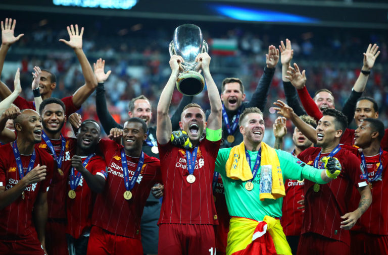 Liverpool win the UEFA Super Cup