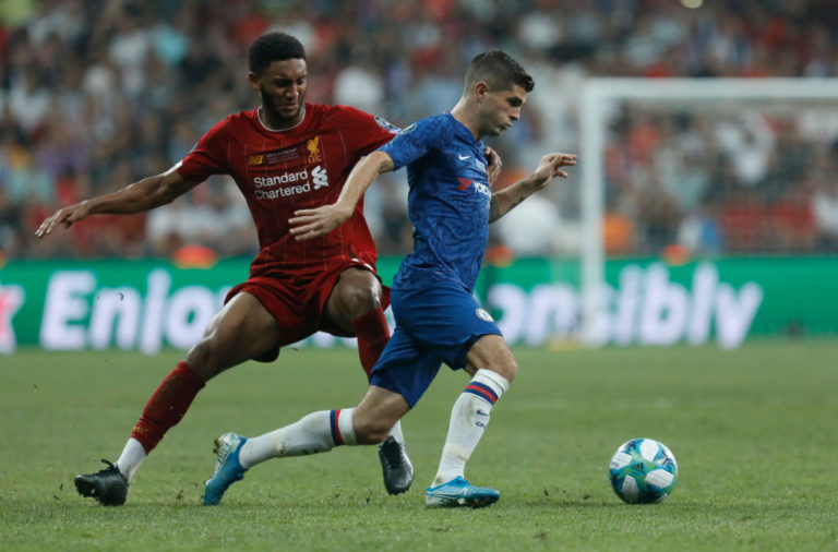 Joe Gomez, Christian Pulisic