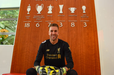 Liverpool sign Adrian