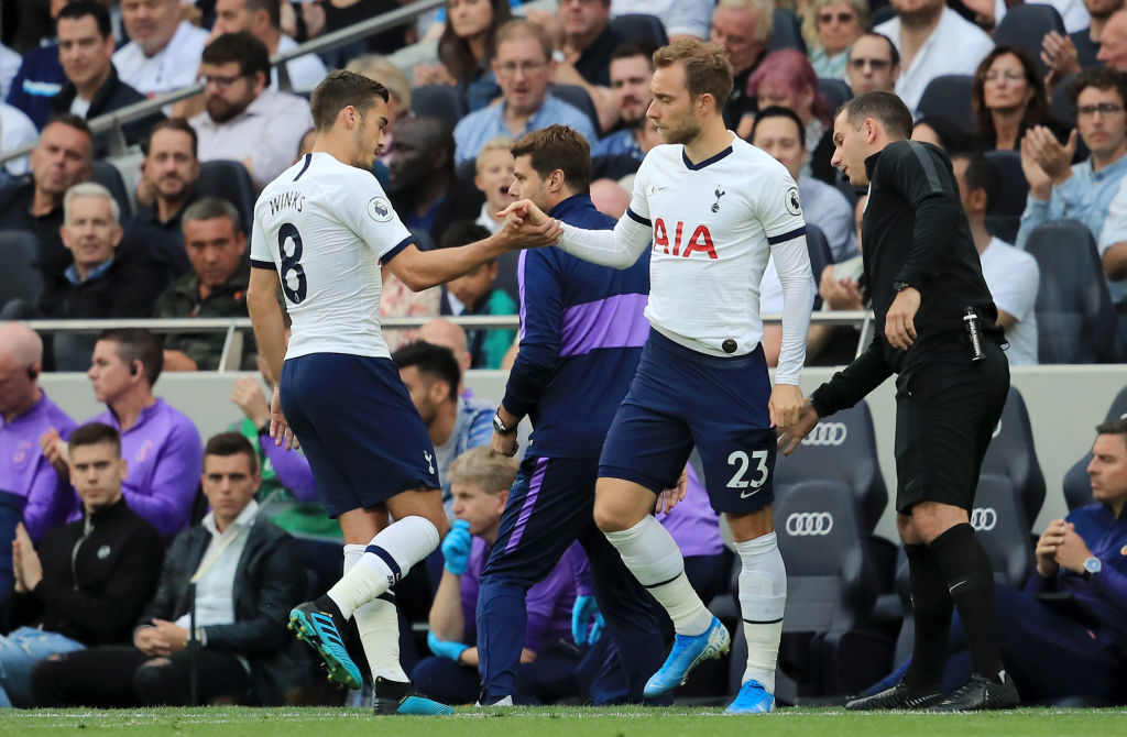 Christian Eriksen, Harry Winks