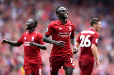 Mane believes Liverpool have the best fans in the world.