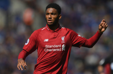 Joe Gomez would start for Man City.