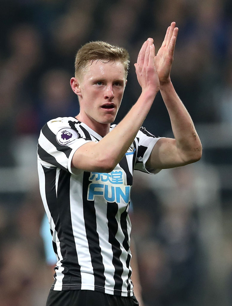 Sean Longstaff is set to miss Liverpool v Newcastle United.