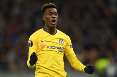Liverpool were linked with Callum Hudson-Odoi this time last year.