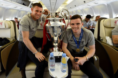 Milner and Robertson have become a comedic duo.