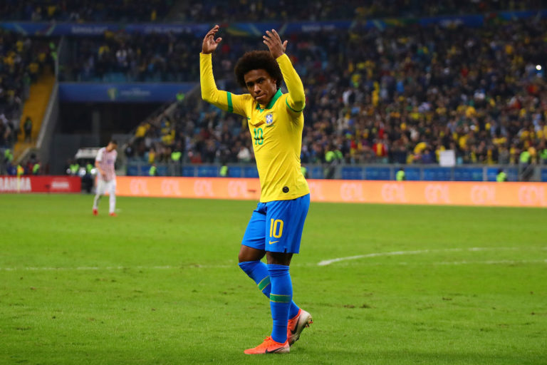 Could Willian finally join Liverpool next summer?