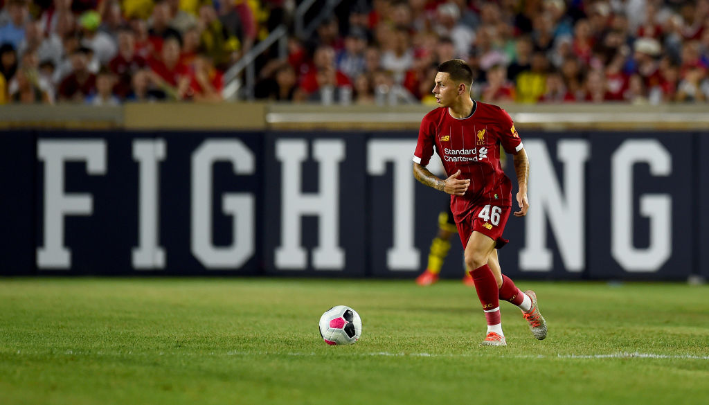 19-year-old may not start tonight but he has bright Liverpool future
