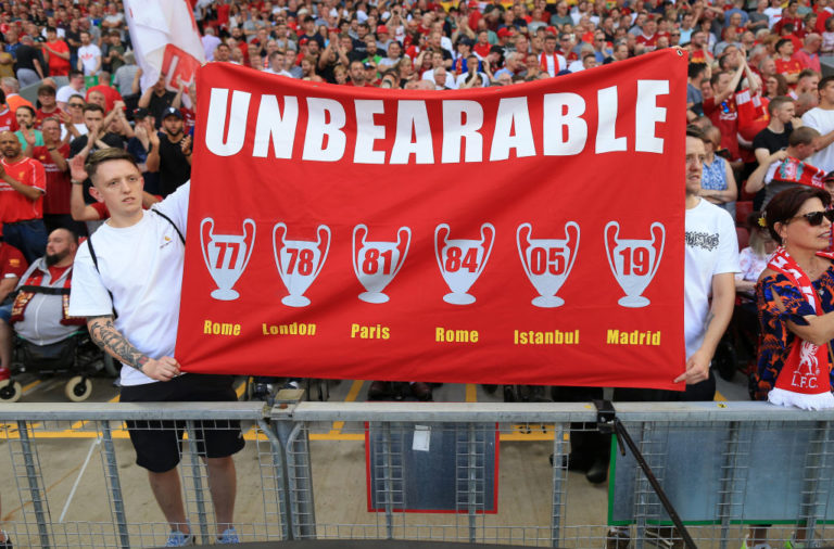 Liverpool are known as The Unbearables