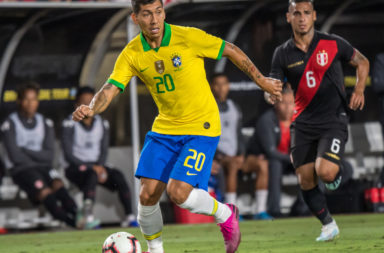 Firmino and Fabinho played for Brazil against Peru.