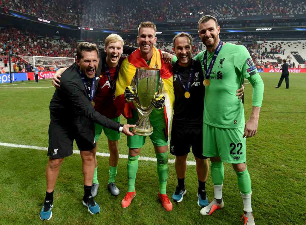 Liverpool goalkeepers, Super Cup, Caoimhin Kelleher, Adrian, Andy Lonergan