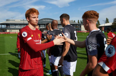 Liverpool academy players need a better shot.