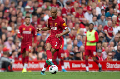Fabinho is nailed on to start against Napoli.