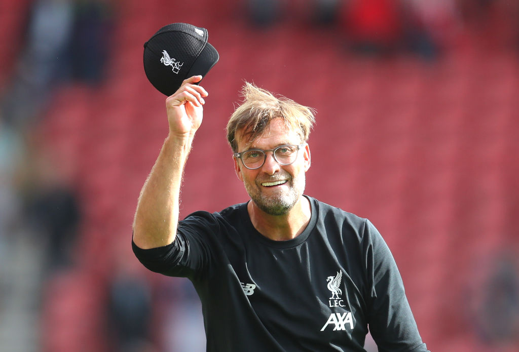 Hats off to manager of the month, Jürgen Klopp.