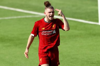 Harvey Elliott is likely to feature in the Liverpool team versus MK Dons.