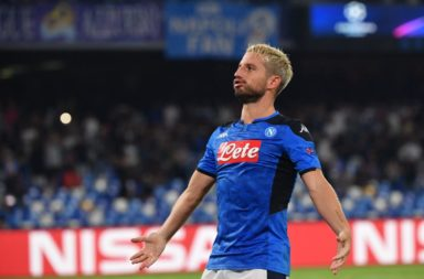 Dries Mertens slotted home the Napoli penalty.