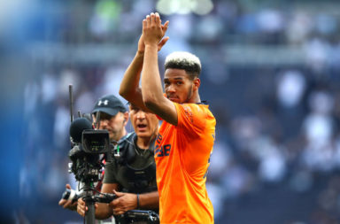 Joelinton could star in Liverpool v Newcastle.