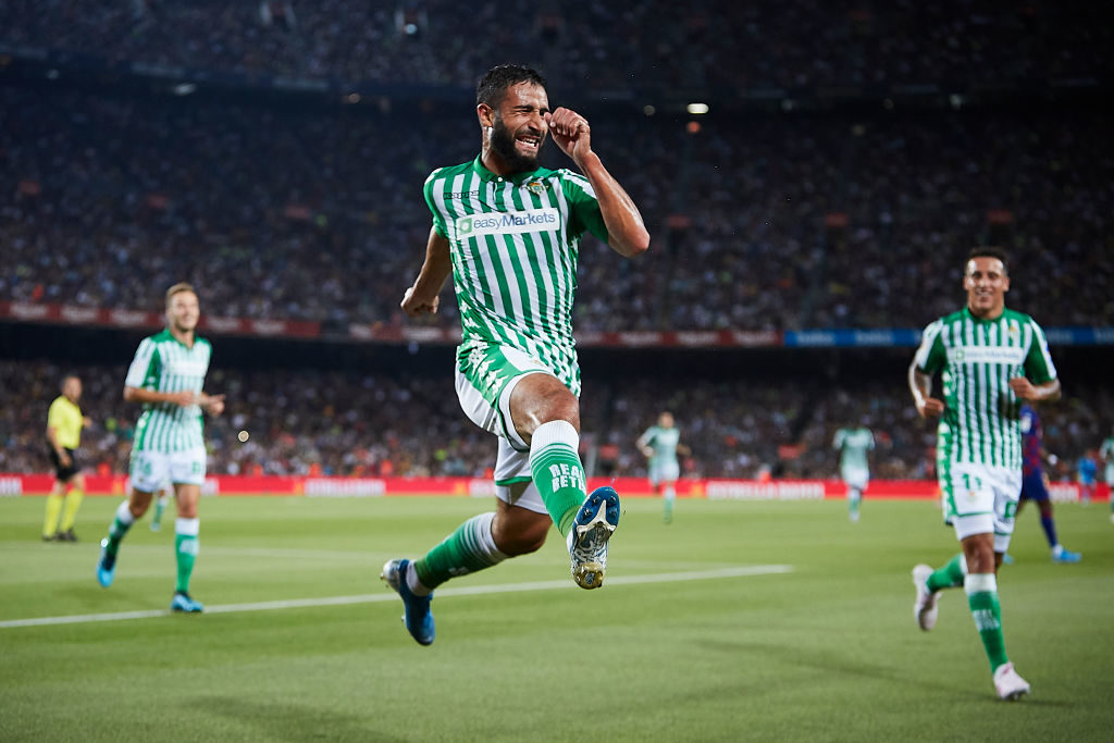 Nabil Fekir now plays for Real Betis.