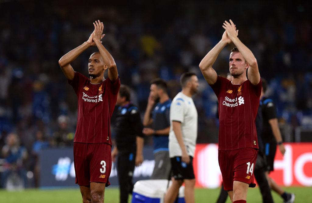 Key Liverpool lesson from Napoli defeat: never play that Liverpool midfield again
