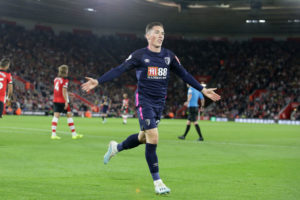 Harry Wilson scores again for Bournemouth.