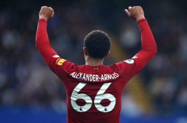 The Alexander-Arnold goal has delighted fans.