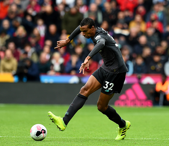 Joel Matip currently offers more than Virgil van Dijk.