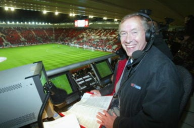 Martin Tyler was fuming as Liverpool won away.