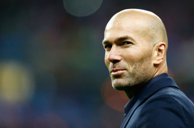 Zidane is a favourite for the Champions League