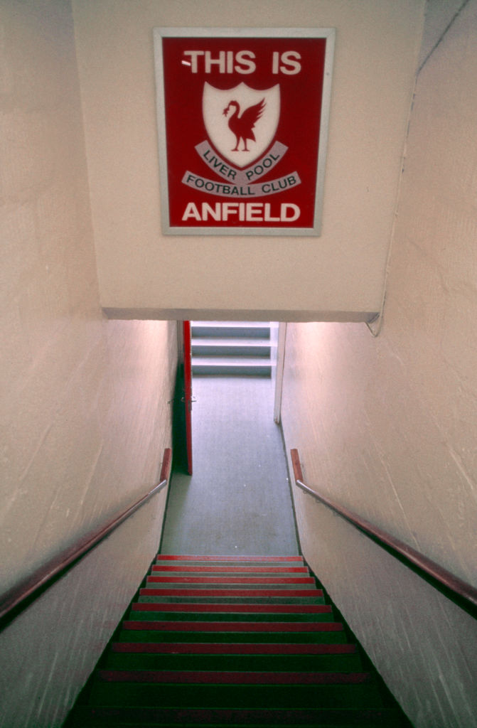 The This is Anfield sign has terrified opponents for decades. A new Liverpool stadium would lose this effect.