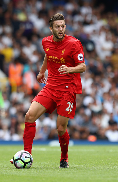 Keeping Lallana fit could prove vital.