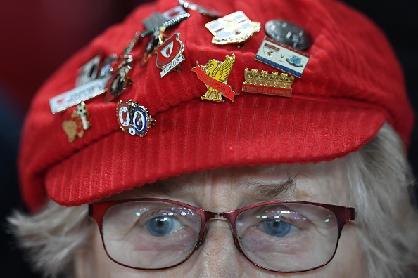 Liverpool fans wearing badges of honour isn't new but it's taken on a new form.