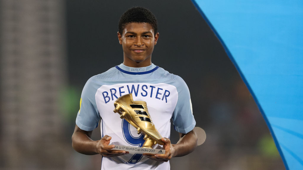 Rhian Brewster has shined on the international stage.