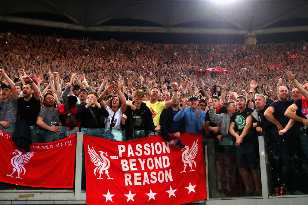 Why Liverpool fans wear another club's merchandise