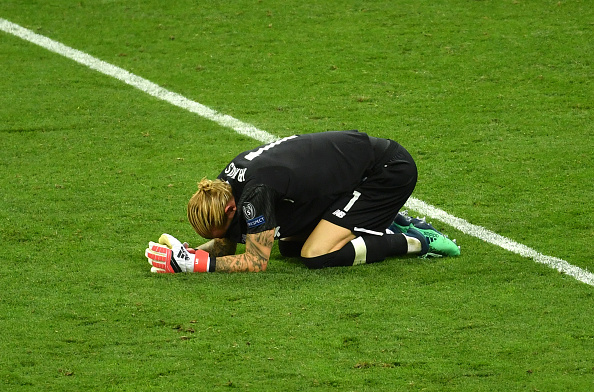There was another Karius error in Europe last night