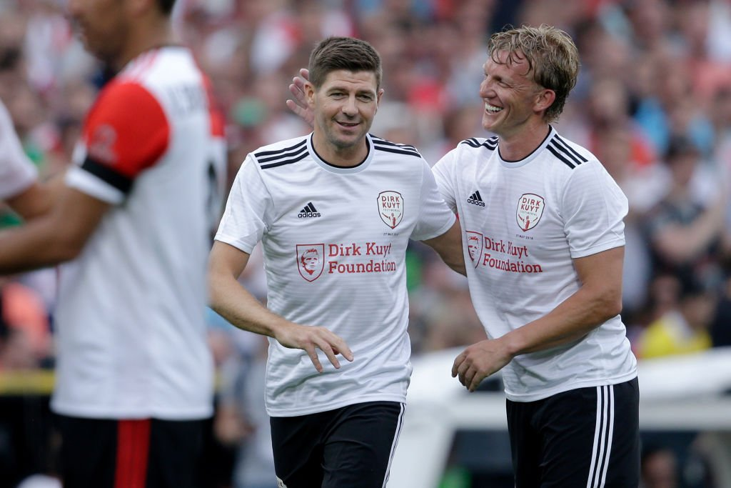 Here's why Steven Gerrard is everyone's favourite teammate