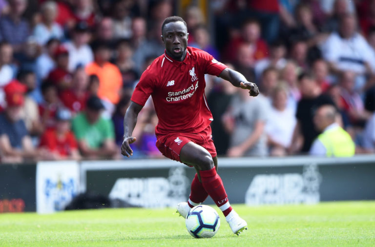 Naby Keita could return this weekend.