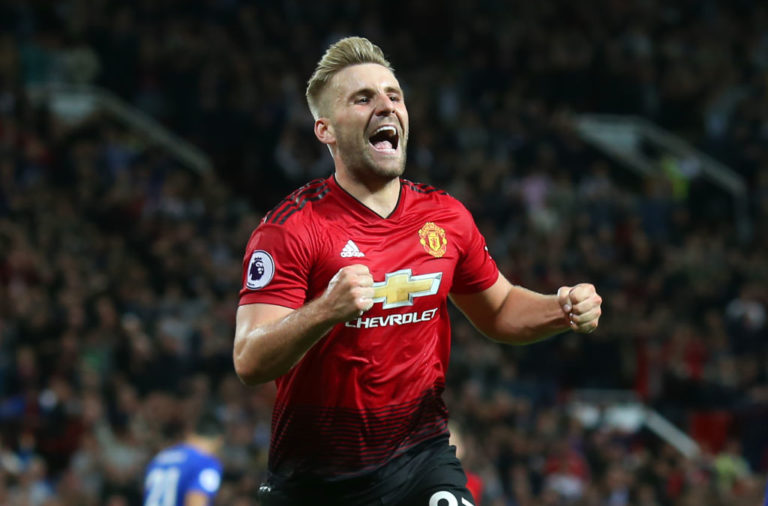 Luke Shaw is one of 3 Man United players Liverpool will have to keep quiet.
